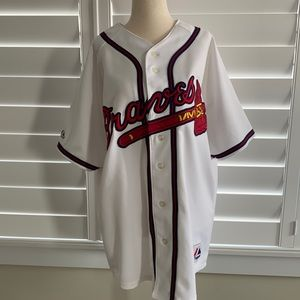Atlanta Braves Tim Hudson #15 MLB jersey sz 40 vintage majestic